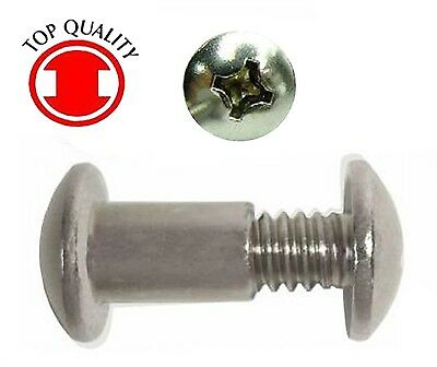 "Post Nut Screw #10-24 X 5//8/"" 25sets Phillips//Slot Steel Zinc Combo Truss Head"