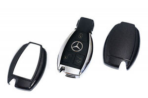 Mercedes benz black remote key cover case skin shell cap for Remote starter for mercedes benz