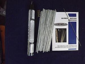 Lumiweld 50 Rod Kit - Low Temp Aluminuim Repair