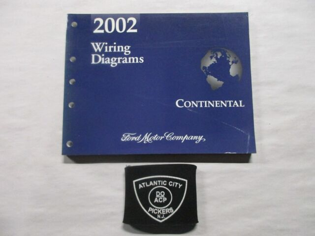 2002 Ford Continental Electrical Wiring Diagrams Service Manual