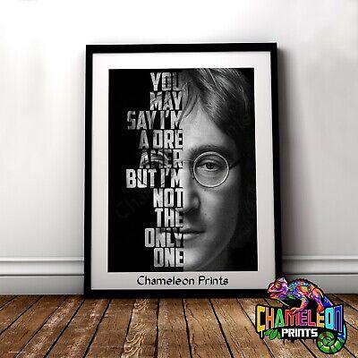 John Lennon Poster A3 A4 An Evening With John Lennon RARE