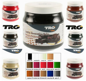 TRG GRISON Leather Recolouring Balm Restorer Cream Shoe Sofa Chair ...