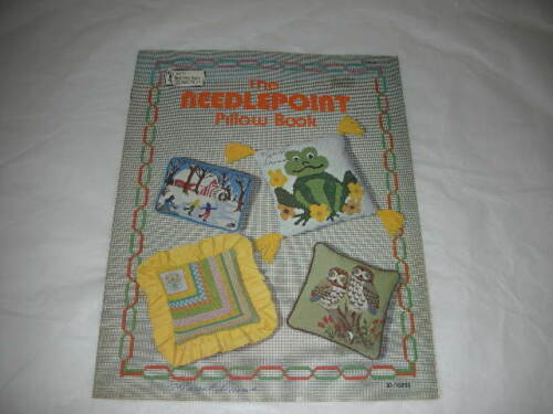 Vintage1977 NEEDLEPOINT OW Book Hazel's Needle Craft Col. Pattern Sheet