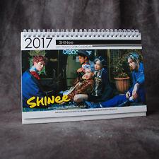 K-POP SHINEE TAEMIN KEY ONEW MINHO  JONG HYUN 2017-2018 PHOTO DESK CALENDAR