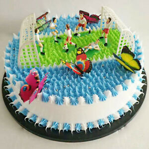 1pc Fussball Sport Kuchen Dekoration Party Geburtstag Diy Kinder