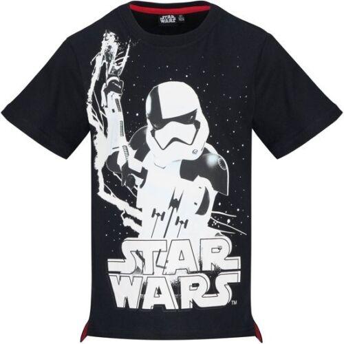 Star Wars Enfants Garçons T-Shirt Tee Top Haut  Col Rond 10 ans