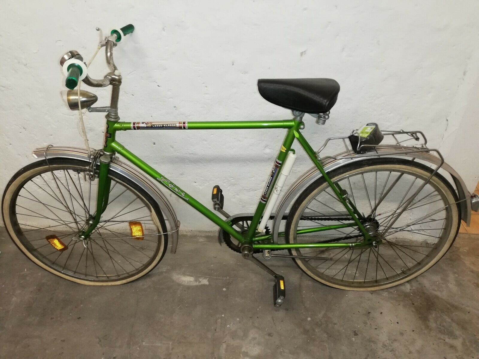 Vintage Bicycle of Lion Mens Poison Grün Made in Germany
