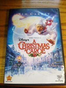 Disneys A Christmas Carol (DVD, 2010) Jim Carrey Christmas Movie Walt Disney   eBay