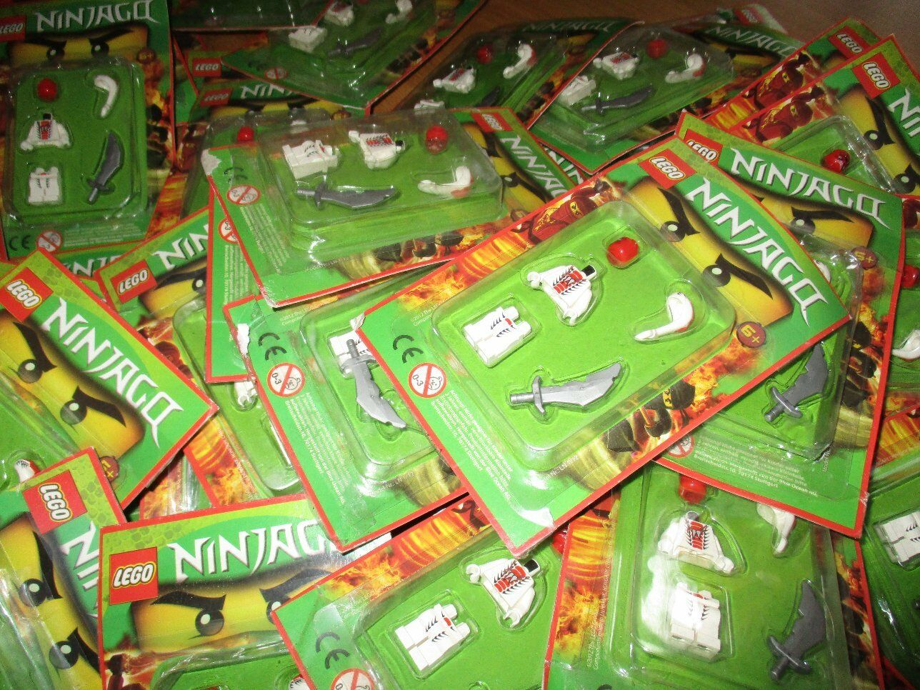 45 X Lego Ninjago Minifiguren personnages Snappa  de set 9442 9564  marques de mode