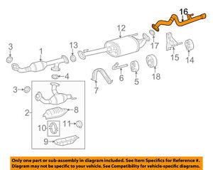 toyota v6 engine exhaust system diagram wiring diagram services \u2022 1992 toyota v6 motor diagram toyota oem 07 14 fj cruiser 4 0l v6 exhaust system tail pipe rh ebay com toyota tacoma v6 engine diagram 1995 toyota 4runner v6 engine diagram