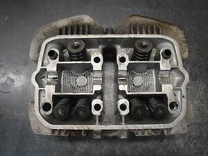 81 1981 honda cm400 cm 400 e motorcycle motor engine cylinder head valves ebay. Black Bedroom Furniture Sets. Home Design Ideas