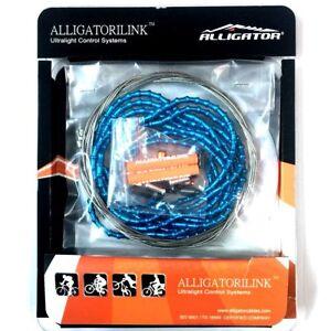 101 LY-FLEX-D gobike88 Alligator iLINK blue shift cable set