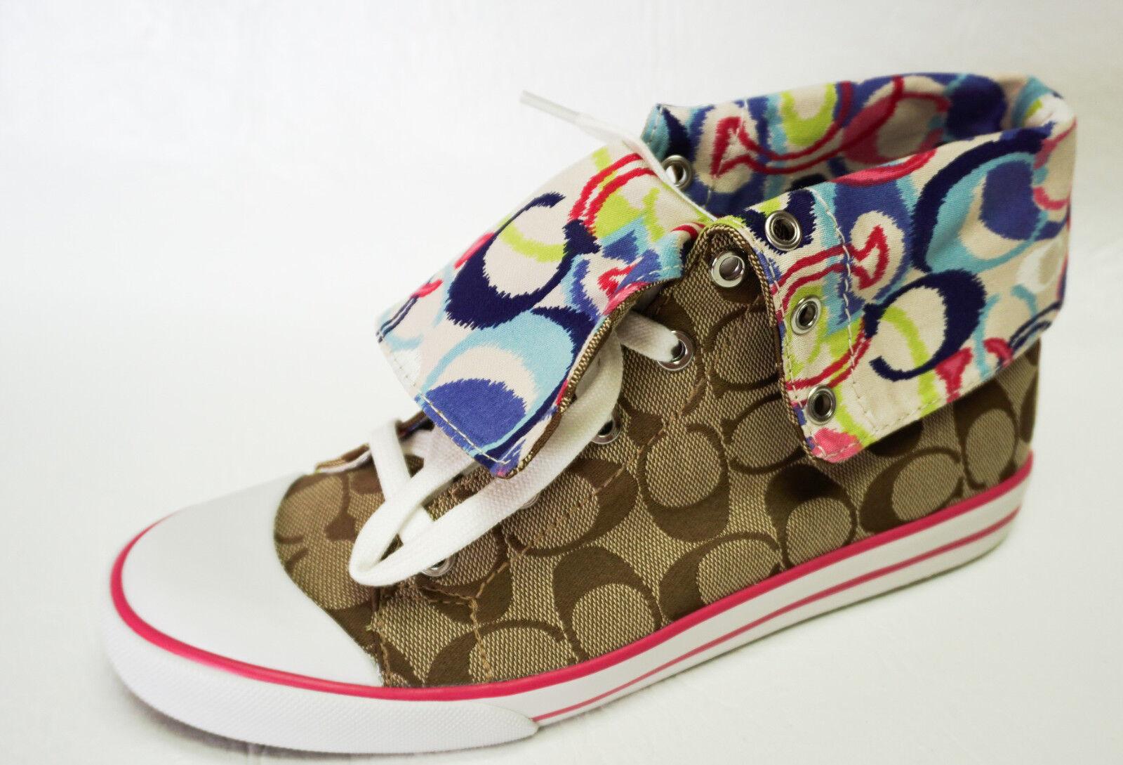 9fae18b61 Entrenador A1885 Bonney amapola Ikat Multicolor Hi-Top Tenis Zapatos  Zapatos Zapatos 8 Nuevo Caja dd0608