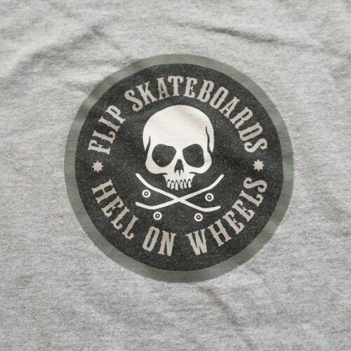 Vintage Flip Skateboards Tshirt M Arson Skate 90s