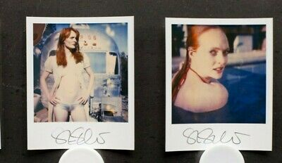 signed Invite Record 2 signed Minis not mounted Stefanie Schneider