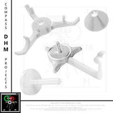 Supporto stampato 3D per piccole matassine di filamento PLA ABS Prusa RepRap
