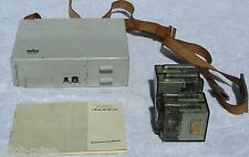 """BRAUN HOBBY SPECIAL EF2"" ELECTONIC FLASH 1936 ORIGINAL CERTIFICATE + BATTERIES!"
