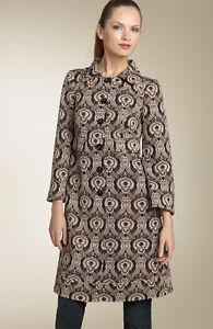Printed Jacket 'randi' Furstenberg 525 Size Diane Metallic Von New Coat Knit 6 qSgFnvx