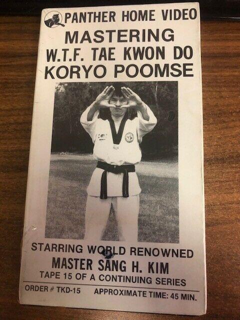 Chun Kuhn Do By GM Bok Man Kim WTF /& ITF Master Taekwondo Taekwon-do
