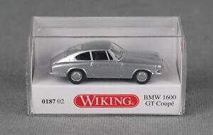 1//87 Wiking BMW 2002 silber metallic 0183 06