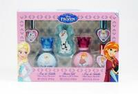 Frozen By Disney 6 Pc Set: 2 X 1.05 Oz Edt Spray,3 X 0.15 Oz Edt Spray & S/g