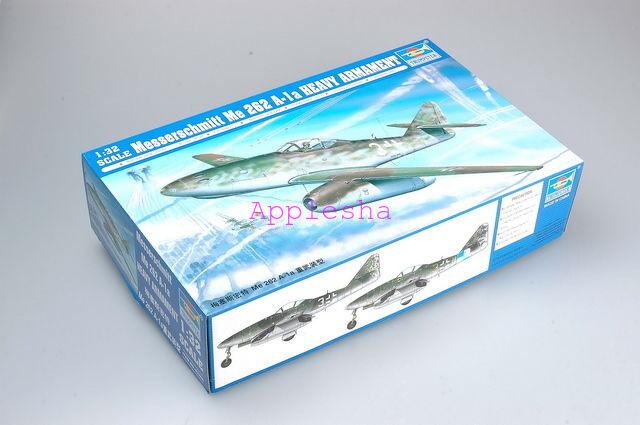 Trumpeter 02260 1 32 Messerschmitt Me 262 A-1A Heavy Armament