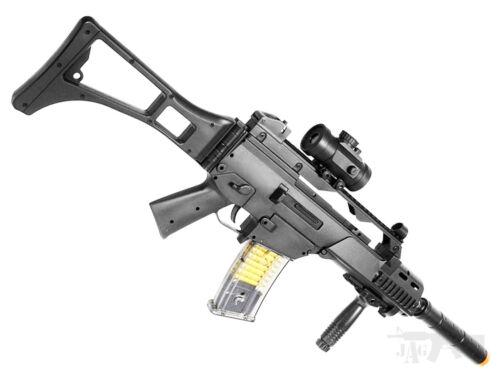 Double Eagle Airsoft Gun Semi Full Automatic Rifle M82 AEG Electric Free 2000 BB