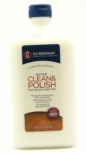 Image Is Loading Guardsman Clean Amp Polish For Wood Furniture Cream