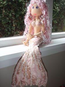 Cloth Doll Pattern - Adriana - gorgeous mermaid doll | eBay