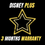Disney-plus-3-months-warranty-4K-fast-delivery miniature 1