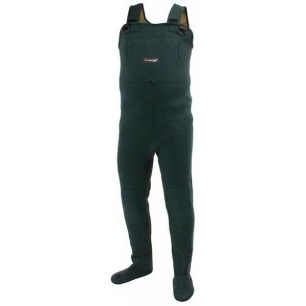 Frogg Toggs 2713143 Amphib Neoprene S F Wader 2XL Forest Green NEW