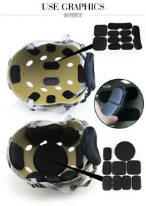 Helmet-Pads-Tactical-Military-Safety-EVA-Pads-Set-of-19Pcs-Helmet-Protective