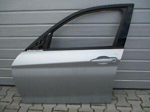 Original-BMW-1er-F20-4-5-Tuerig-Beifahrer-Tuer-Vorne-links-Glaciersilber