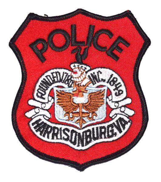 7bd5452367614 HARRISONBURG VIRGINIA VA Police Sheriff Patch CITY LOGO SEAL WINGS LANTERN ~