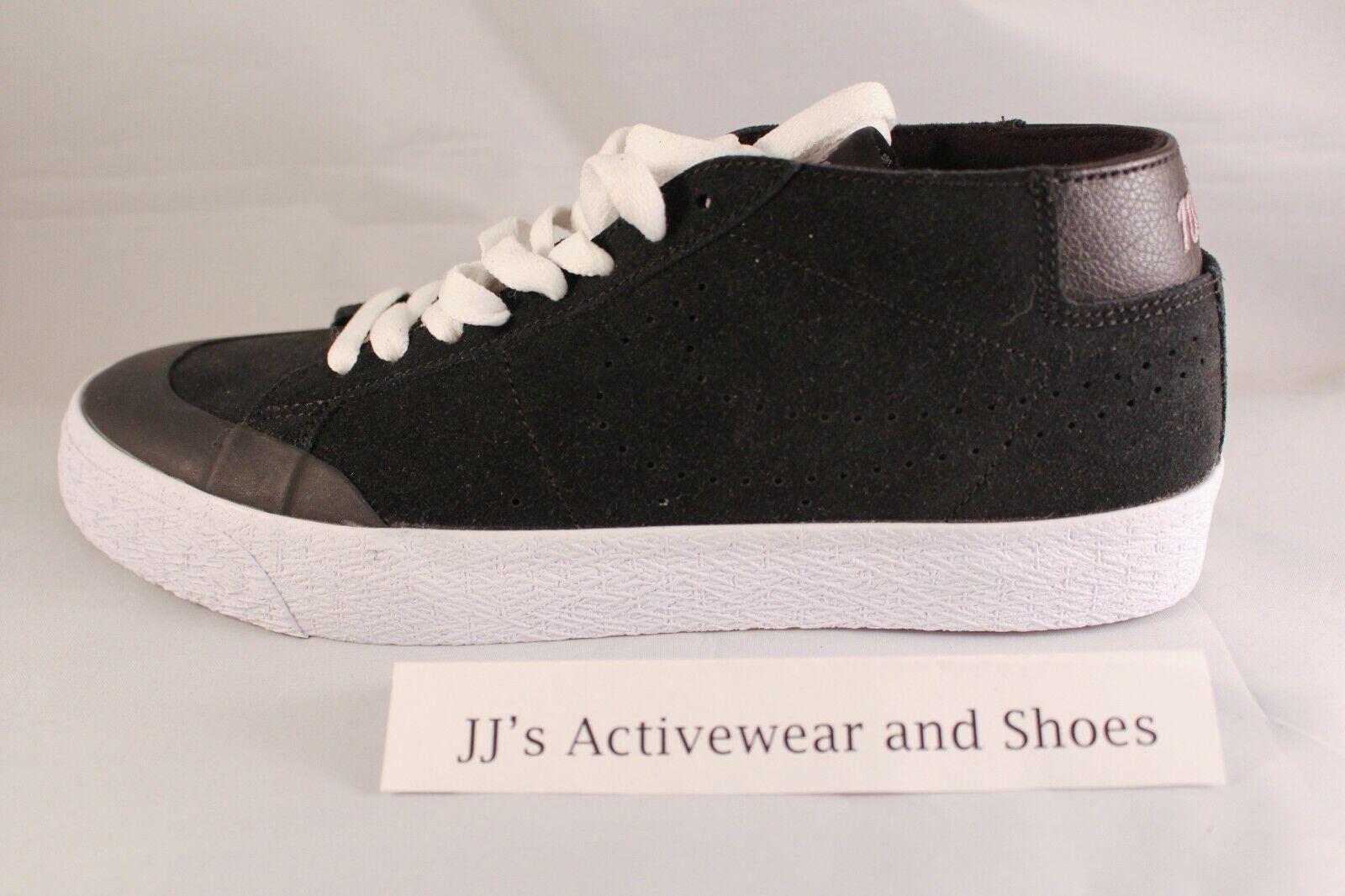 hot sale online 0b3c1 45758 Nike SB Zoom Blazer Chukka XT Black Gunsmoke Men's Shoes Multi Size 8
