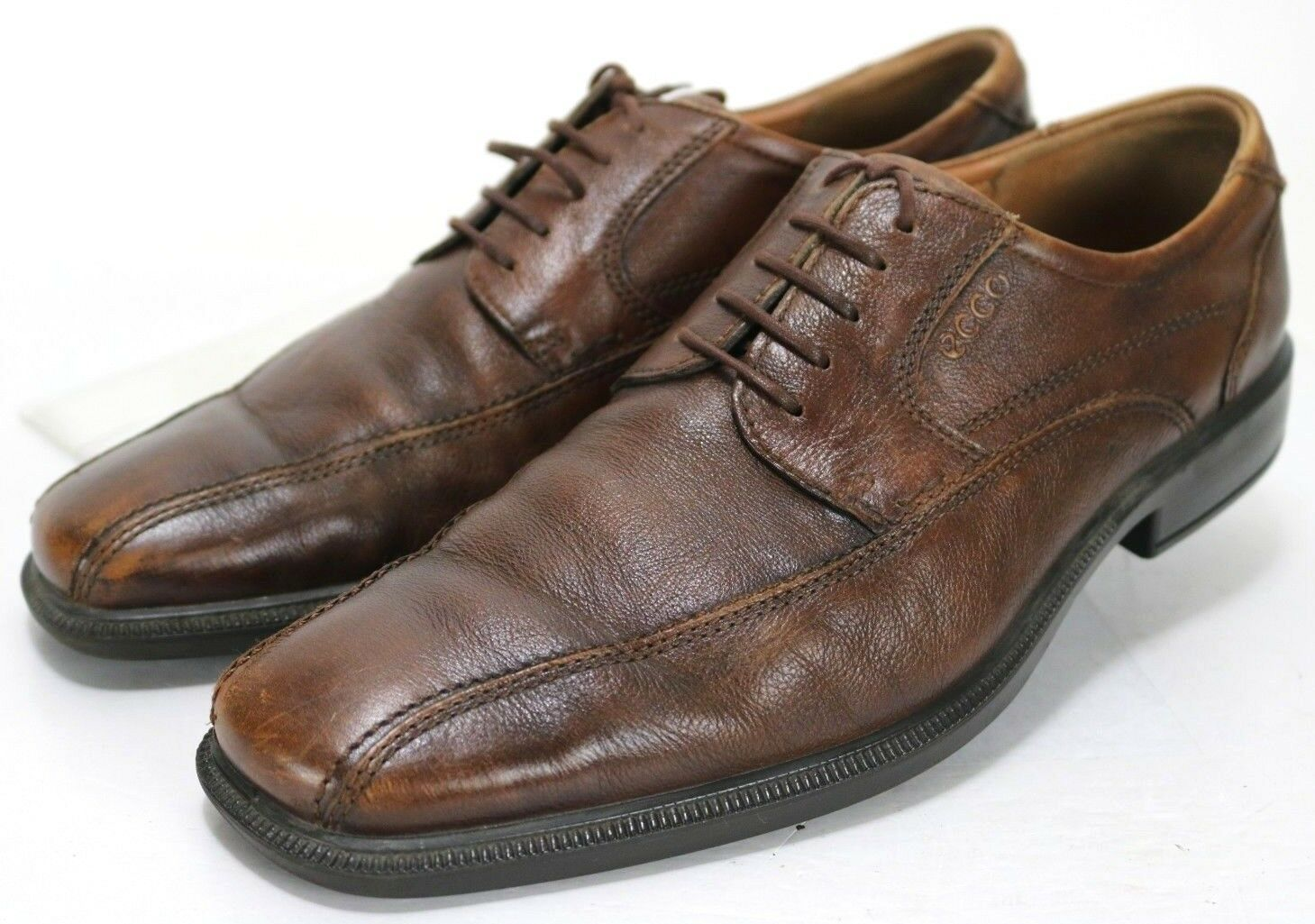 ECCO  140 Men's Oxfords Dress shoes Size EU 45 US 11-11.5 Leather Brown