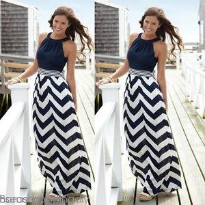 USA-Womens-Maxi-Boho-Summer-Long-Dress-Evening-Party-Beach-Dresses-Sundress