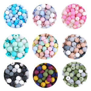 Safe-Baby-Chewing-Round-Silicone-Teething-Beads-DIY-Teether-Jewelry-Toy-BPA-Free
