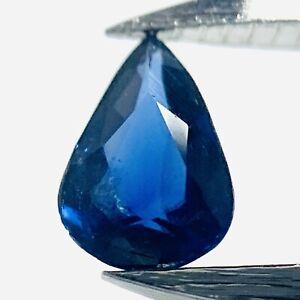 Echter Blauer Runder Saphir 0.05ct 2mm