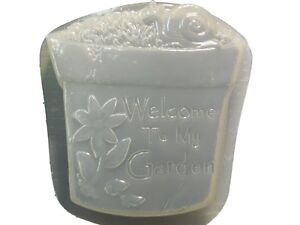 SystéMatique Bienvenue à Fleurs à Escargot Stepping Stone Plâtre Béton Moule 1314 Moldcreations-afficher Le Titre D'origine