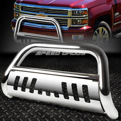 Relocation Kit For Chevy//GMC C//K Suburban GMT400 3 inches Chrome Bumper Push Bull Bar Skid Plate