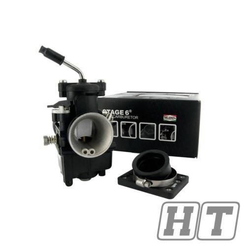 Stage 6 Carburateur VHST 28 mm R//T tubulure d/'admission pour NITRO