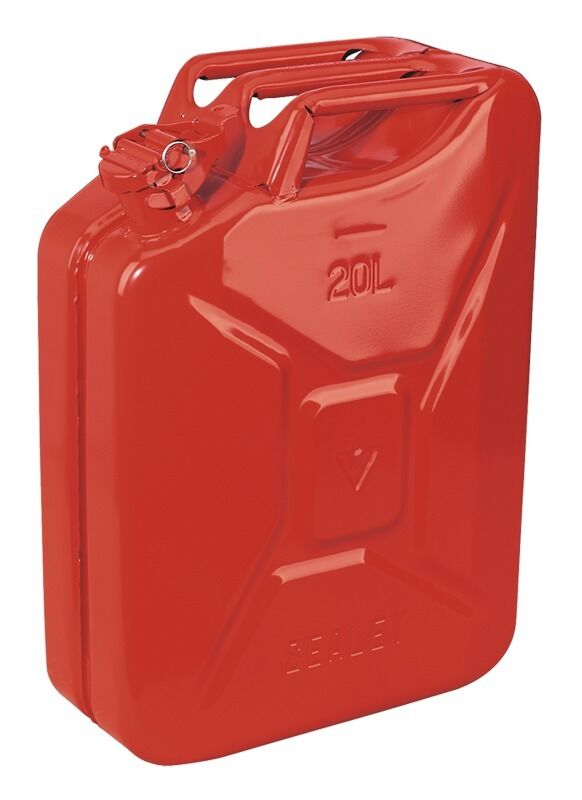 Sealey Jerry Can 20ltr - Red JC20