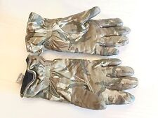 British Army-Issue MTP Leather Gore Tex Combat Gloves. Size 8.