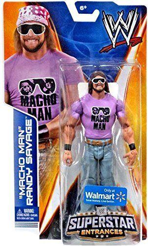 MACHO uomo  ReY SAVAGE cifra WWE SUPERestrella ENTRANCES TSHIRT WALMART EXCLUSIVE  il miglior servizio post-vendita