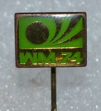Germany 1974 FIFA Football World Cup WM 74 Fussball Anstecknadel Logo pin badge