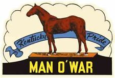 Louisville Kentucky Bluegrass State Sticker Set of 2 Vintage-Style