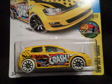 HW HOT WHEELS 2017 HW ART CARS #6/10 VOLKSWAGEN GOLF MK7 YELLOW HOTWHEELS VHTF