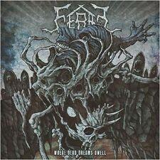 FERAL - Where Dead Dreams Dwell  [BLUE Vinyl] LP