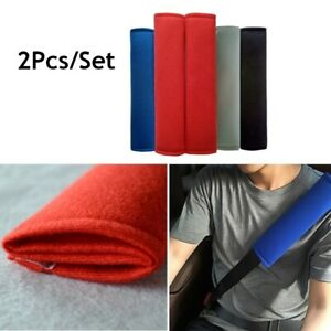 2xCar Seat Belt Pads Harness Safety Shoulder Strap BackPack Cushion Covers  q2w